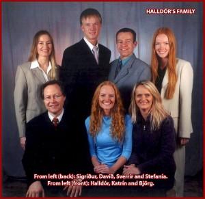 Halldórs-family