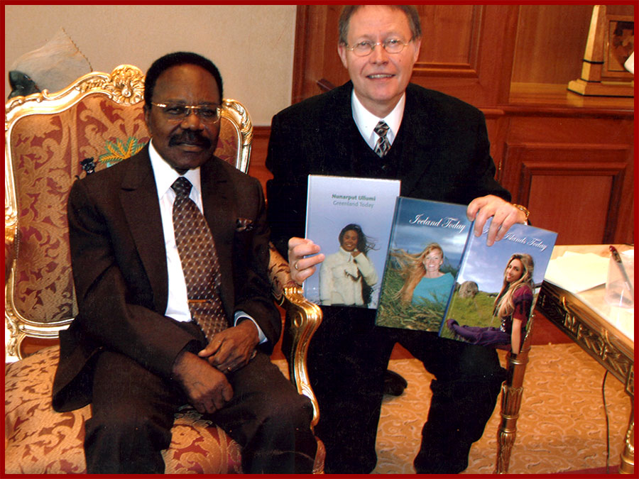 Meeting with Mr. Omar Bongo Ondimba, President of Gabon
